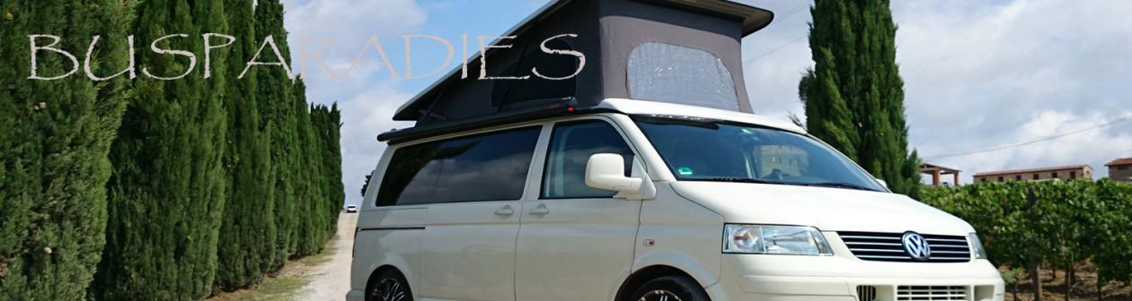 Busparadies – VW Bus Umbauten auf höchstem Niveau